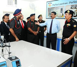 Inaugaration of POL Testing laboratory for Indian Army