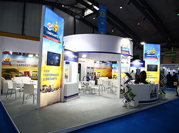 Excon 2017 HP Lubricants Stall