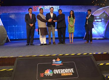 HP Racer and HP Neosynth partners with CNBC TV18 to sponsor Overdrive Awards